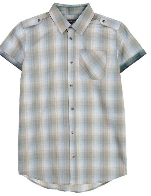046d70311 Camisa casual Weekend a cuadros algodón para niño