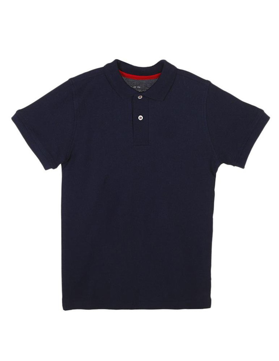 71920cb4bdf53 Playera tipo polo Weekend algodón para niño