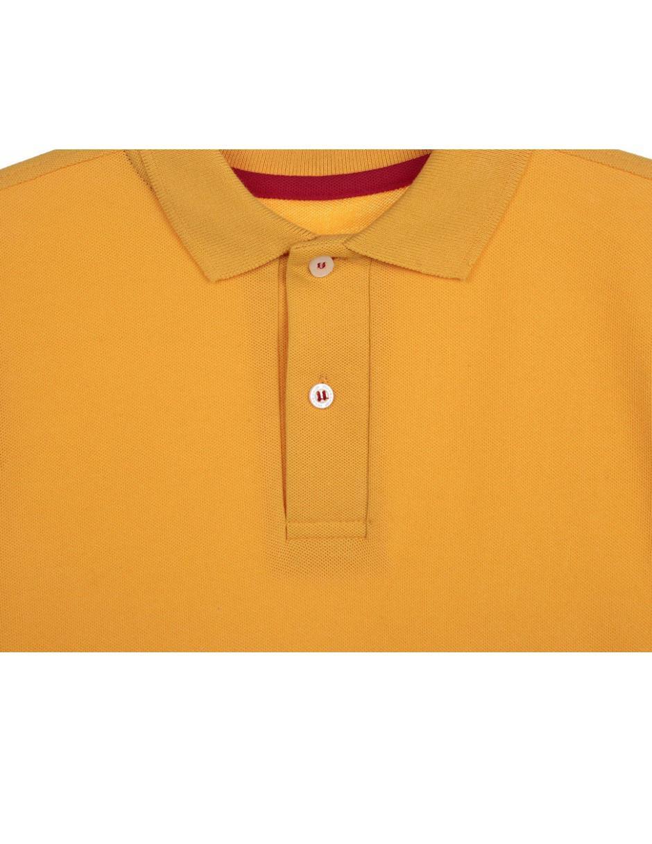 Playera polo Weekend jaspeada algodón para niño 6c80d6f298b52